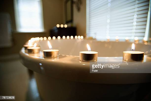Bathtub and Candles