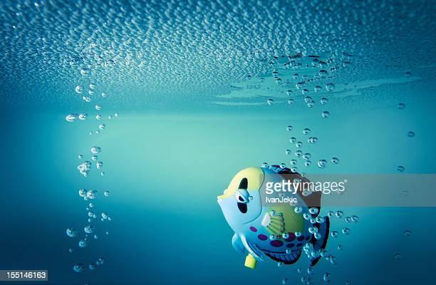 魚トーイのバスタブ