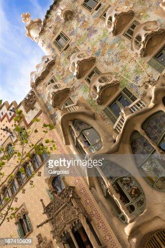 Batlo House in Barcelona, Spain : Stock Photo