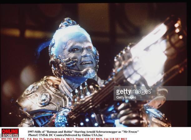 5/27 'Batman And Robin ' Movie Stills Starring Arnols Schwarzenegger As 'Mr Freeze'