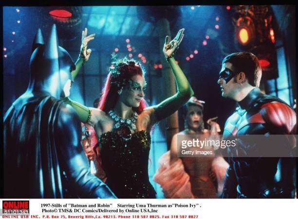 5/27 'Batman And Robin ' Movie Stills Starring Uma Thurman As 'Poison Ivy'