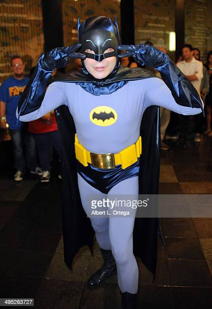 Batman at the 'Batman 66 Meets The Green Hornet' Comic Book Kickoff Fatman On Batman Live Podcast With Kevin Smith And Ralph Garman held at the...