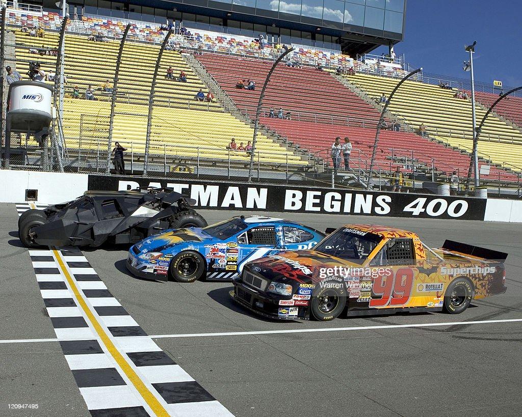 NASCAR at Michigan International Speedway - June 17, 2005