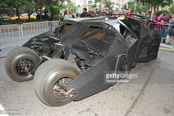 Batmobile attends THE DARK KNIGHT premiere redcarpet arrivals at AMC Loews Lincoln Center NYC on July 14 2008