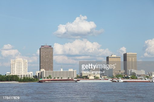 Baton Rouge on the Mississippi River