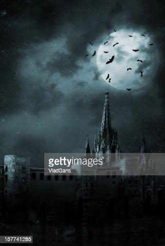 Bats の空の街
