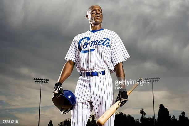 Batter at Baseball Game