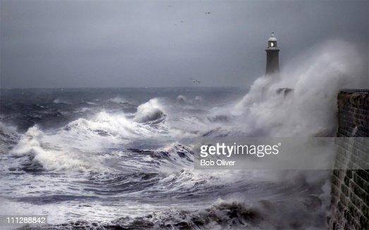 Battered Pier, Tynemouth