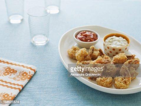 Battered Shrimp Appetizer