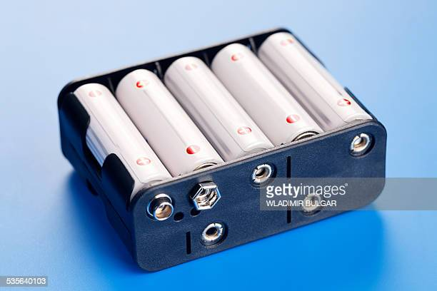 Batteries in battery charger