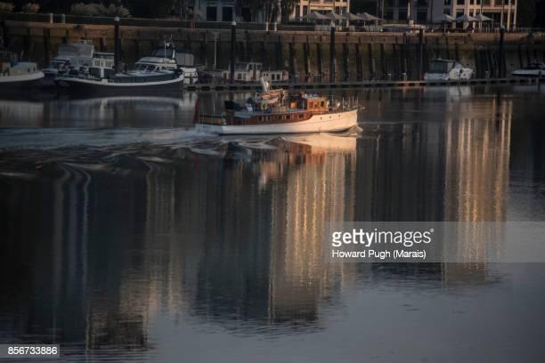 Battersea & Chelsea Waterfront. Nautical Sunset, Sunrise & Dusk