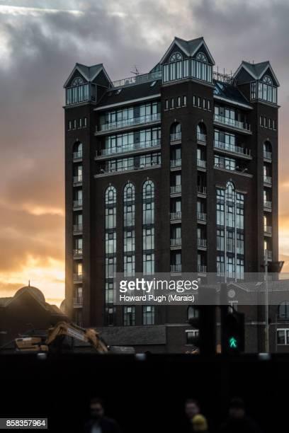 Battersea & Chelsea Waterfront. Sunset, sunrise & Dusk