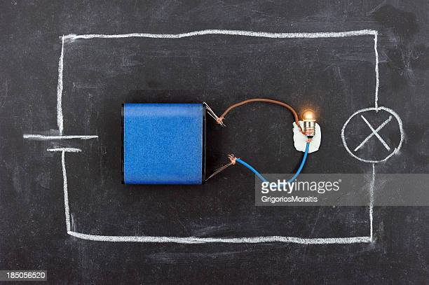 Battery Circuit on Blackboard