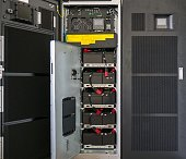 Battery of large uninterruptible Power Supply (UPS)