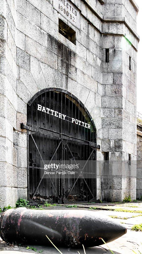 Battery Potter at Fort Hancock