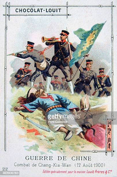 Battle at ChangKiaWan China Boxer Rebellion 12 August 1900 The Boxer Uprising or Boxer Rebellion was a Chinese rebellion from November 1899 to...