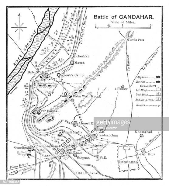 'Battle of Candahar Plan' 1902 The Battle of Kandahar the last major conflict of the Second AngloAfghan War fought by the British Empire From Battles...
