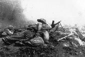 Battle of Dien Bien Phu1954 Vietminh soldiers forming many ambushing troops to snipe the enemies