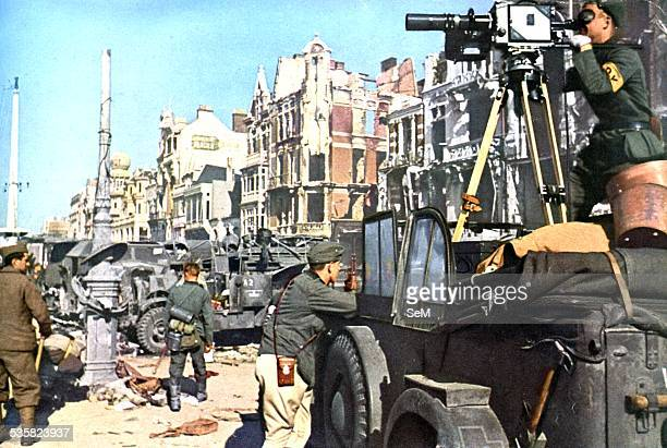 Battle of France German joirnalist in Duquerque or Dunkirk The Battle of Dunkirk was an important battle in the Second World War between the Allies...