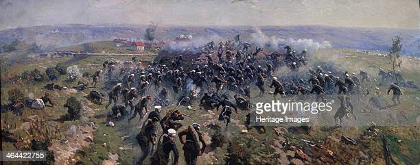 Battle of Gorni Dubnik on 24 October 1877 1914 Found in the collection of the State Central Artillery Museum St Petersburg