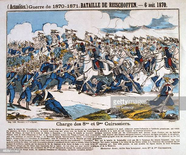 Battle of Reichshoffen FrancoPrussian war 6th August 1870 Charge of the French 8th and 9th cuirassiers The Battle of Reichshoffen the first major...