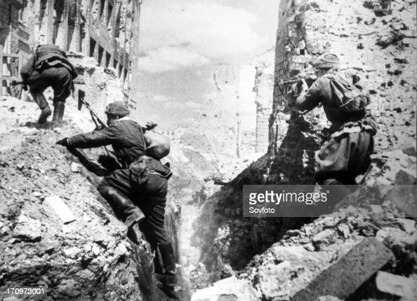 Battle of stalingrad during the fall of 1942