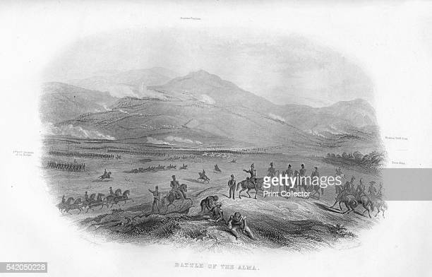Battle of the Alma' 1859 The first battle of the Crimean War took place south of the River Alma An AngloFrench force under Jacques Leroy de Saint...