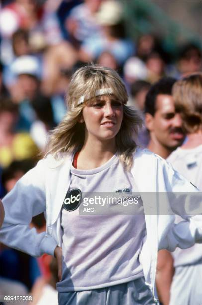 'Battle of the Network Stars' 10/1/82 on the ABC Television Network competition 'Battle of the Network Stars' talent HEATHER LOCKLEAR photographer...