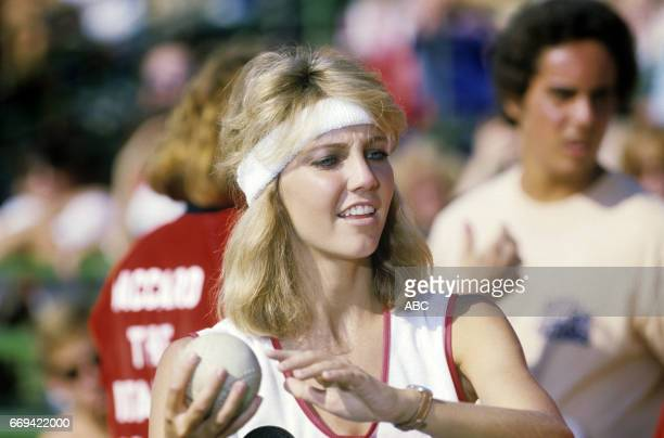 'Battle of the Network Stars' 12/20/84 on the ABC Television Network competition 'Battle of the Network Stars' talent HEATHER LOCKLEAR photographer...