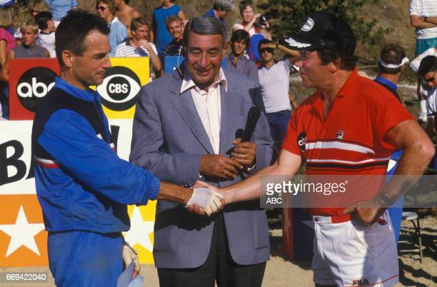'Battle of the Network Stars' 12/20/84 on the ABC Television Network competition 'Battle of the Network Stars' talent MARK HARMON HOWARD COSELL...