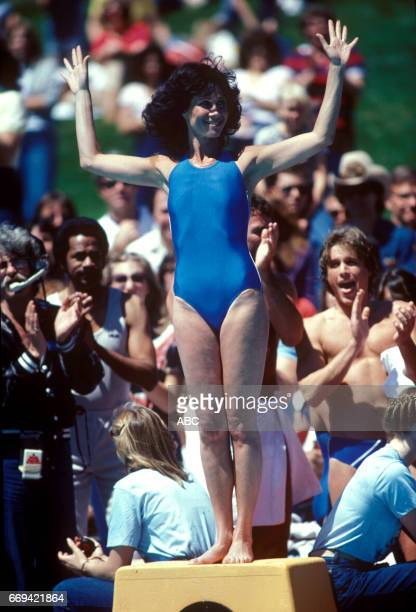 'Battle of the Network Stars' 4/5/81 on the ABC Television Network competition 'Battle of the Network Stars' talent MICHELE LEE photographer ABC...