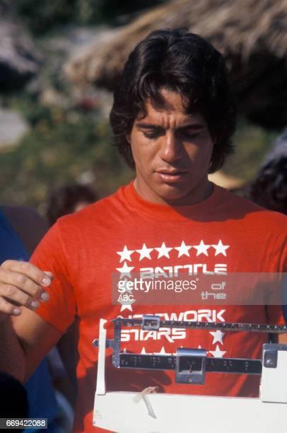 'Battle of the Network Stars' 5/23/85 on the ABC Television Network competition 'Battle of the Network Stars' talent TONY DANZA photographer ABC...