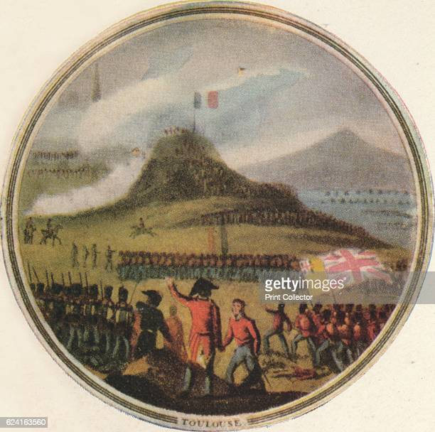 Battle of Toulouse' The souvenirmedal is part of a collection box issued by Edward Orme to commemorate the military campaigns of the Duke of...