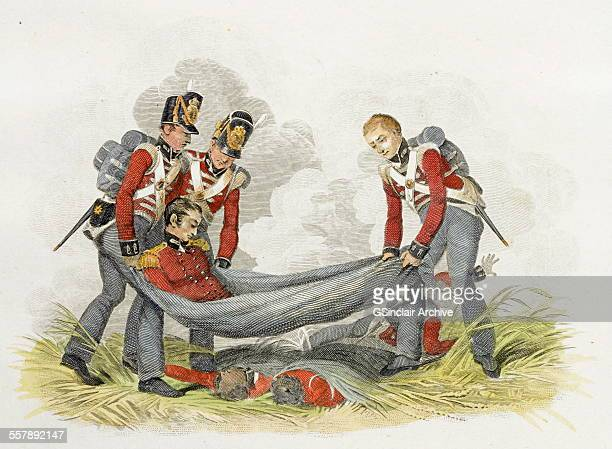 Battle of Waterloo Colonel Gordon mortally wounded