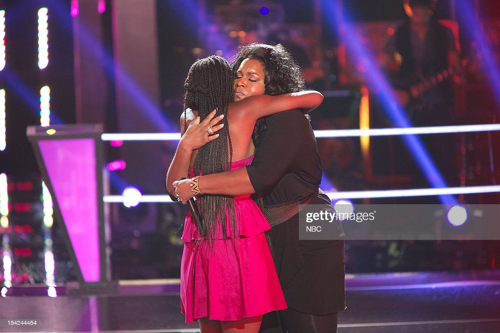 THE VOICE -- 'Battle Rounds' Episode 312 -- Pictured: (l-r) Adanna Duru, Michelle Brooks Thompson --