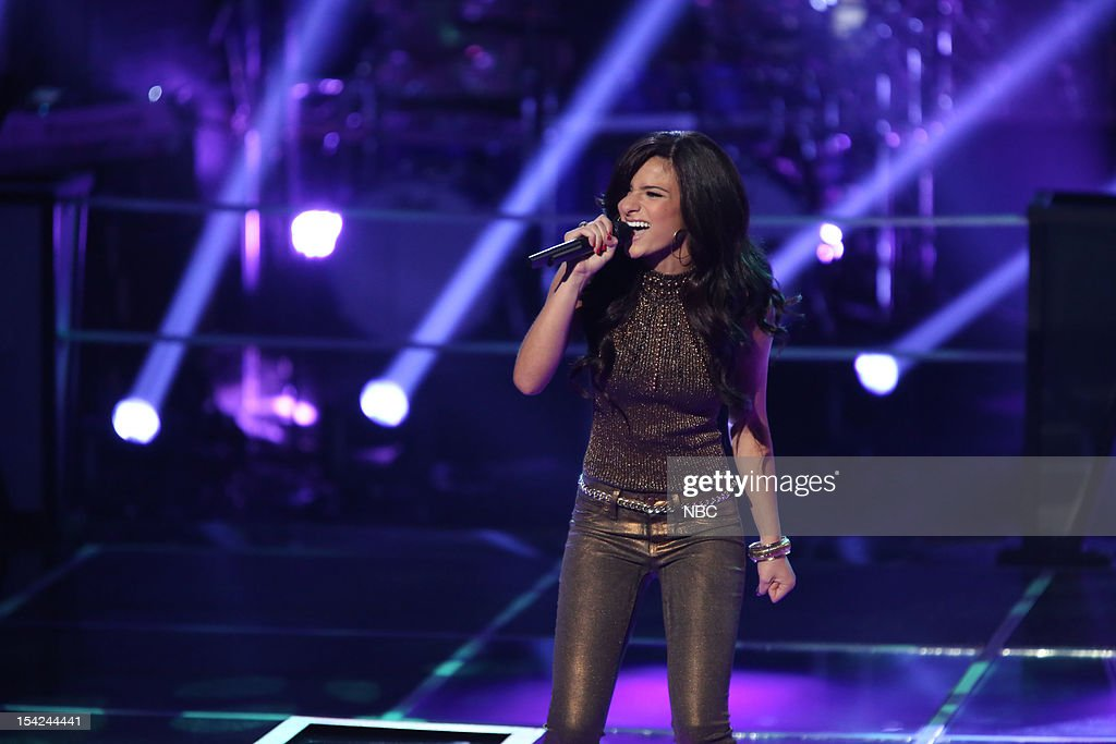 THE VOICE -- 'Battle Rounds' Episode 312 -- Pictured: Alessandra Guercio --