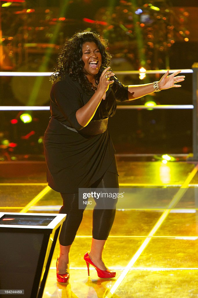 THE VOICE -- 'Battle Rounds' Episode 312 -- Pictured: Michelle Brooks Thompson --
