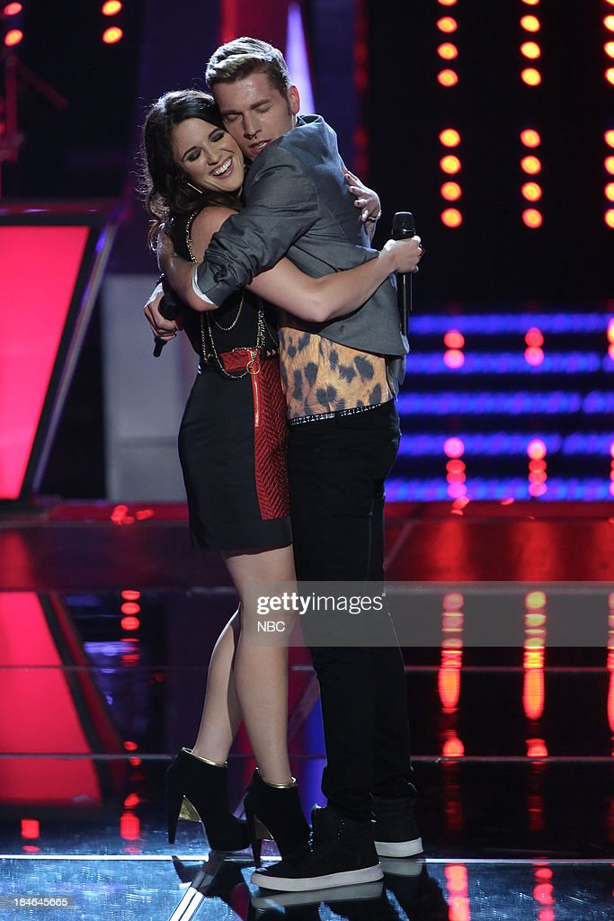 THE VOICE -- 'Battle Rounds' Episode 507 -- Pictured: (l-r) Grey Paluszynski, Nic Hawk --