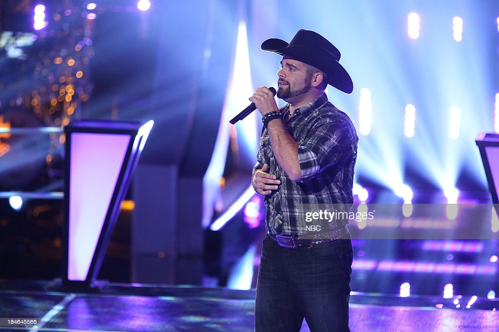 THE VOICE -- 'Battle Rounds' Episode 507 -- Pictured: Justin Chain --