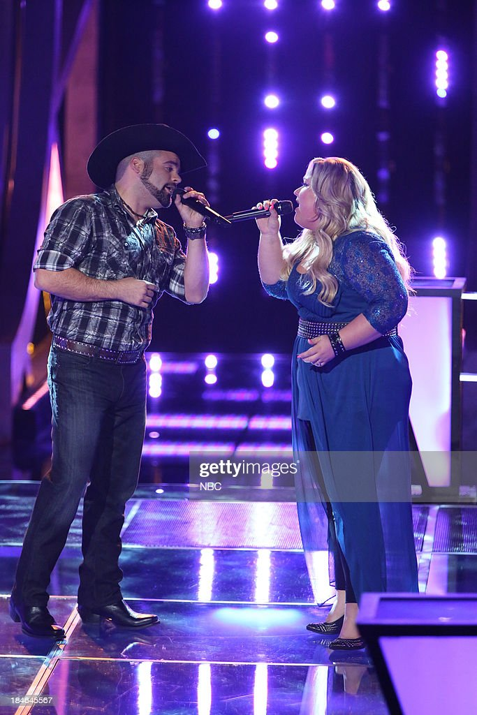 THE VOICE -- 'Battle Rounds' Episode 507 -- Pictured: (l-r) Justin Chain, Shelbie Z. --