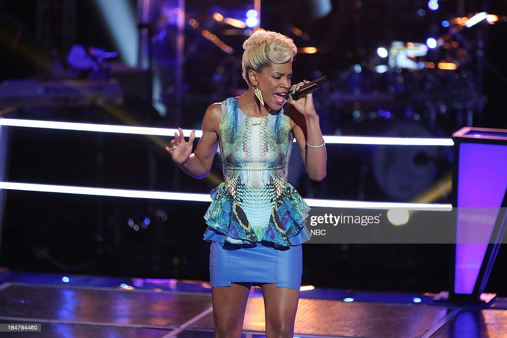 THE VOICE -- 'Battle Rounds' Episode 508 -- Pictured: Ashley DuBose --