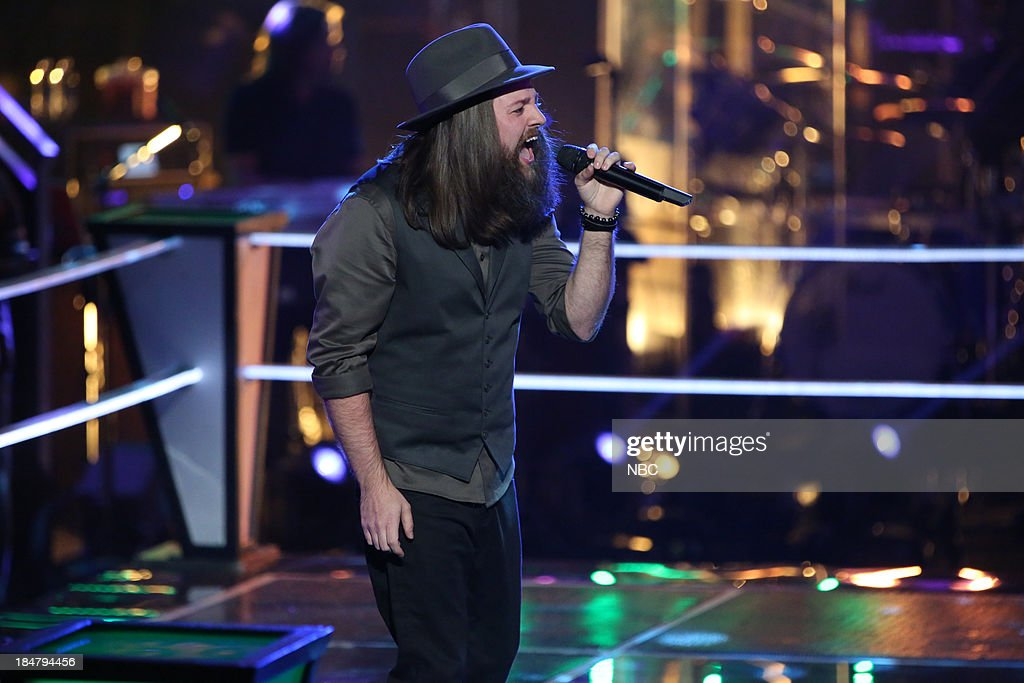 THE VOICE -- 'Battle Rounds' Episode 508 -- Pictured: <a gi-track='captionPersonalityLinkClicked' href=/galleries/search?phrase=Cole+Vosbury&family=editorial&specificpeople=11402593 ng-click='$event.stopPropagation()'>Cole Vosbury</a> --