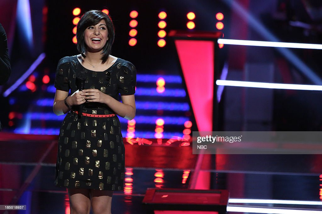 THE VOICE -- 'Battle Rounds' Episode 509 -- Pictured: Juhi Pathak --