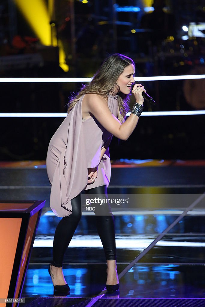 THE VOICE -- 'Battle Rounds' Episode 509 -- Pictured: Lina Gaudenzi --