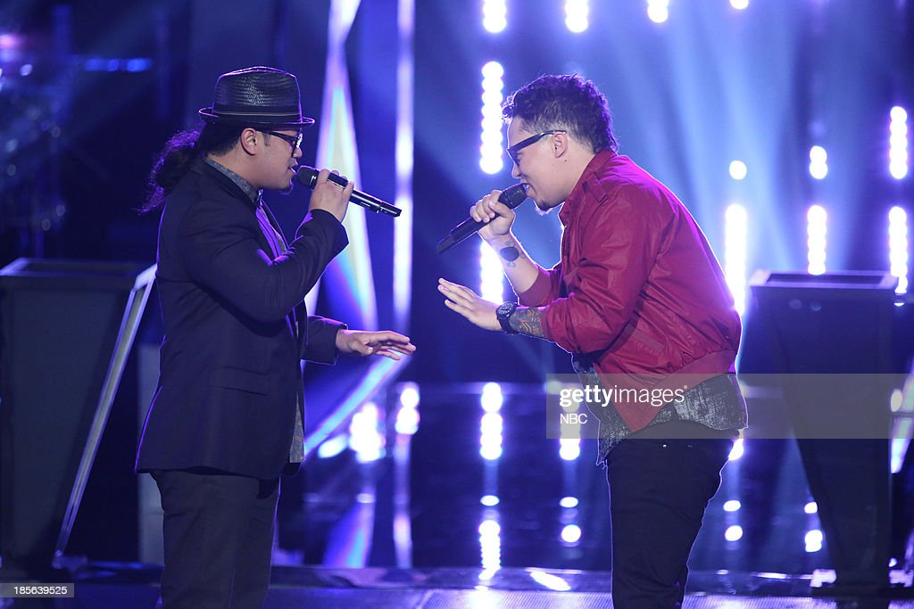 THE VOICE -- 'Battle Rounds' Episode 510 -- Pictured: (l-r) Barry Black, Preston Pohl --