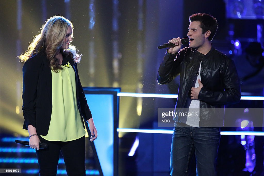 THE VOICE -- 'Battle Rounds' Episode 510 -- Pictured: (l-r) Emily Randolph, Brandon Chase --