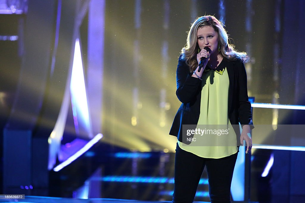 THE VOICE -- 'Battle Rounds' Episode 510 -- Pictured: Emily Randolph --