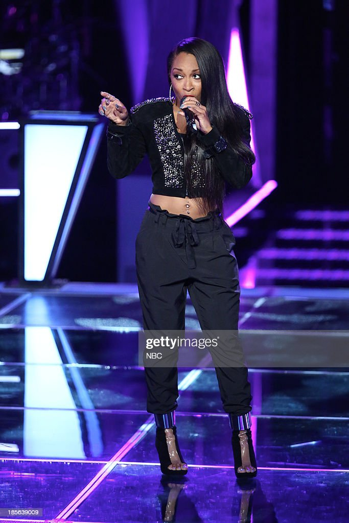 THE VOICE -- 'Battle Rounds' Episode 510 -- Pictured: Keaira LaShae --