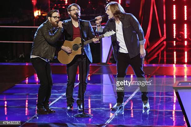 THE VOICE 'Battle Rounds' Episode 608 Pictured Coty Walker and Clinton Walker of Brothers Walker Morgan Wallen