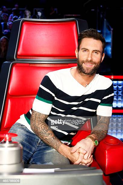 THE VOICE 'Battle Rounds' Episode 805 Pictured Adam Levine